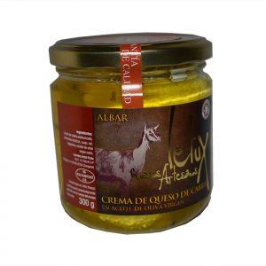 queso crema cabra untar Quesos artesanales Letux
